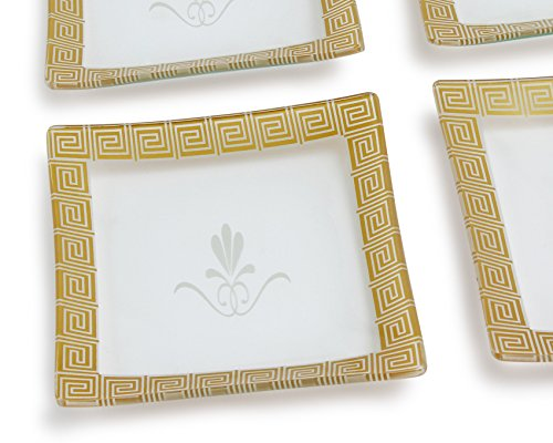 dishwasher safe dessert plates - 8