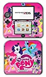 My Little Pony Friendship is Magic MLP Pinkie Pie Rarity Rainbow Dash Twilight Sparkle Applejack Video Game Vinyl Decal Skin Sticker Cover for Nintendo 2DS System Console