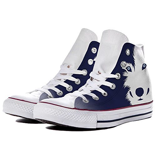 Star Unisex 2 M7650c Canvas Scarpe Converse Sneaker by Wolf Personalizzate all Colors YourStyle Hi qpSFA6