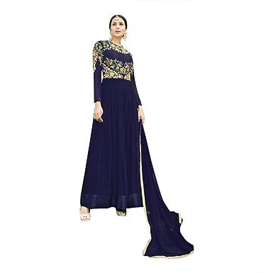 Zeremonie Bollywood Party Wear Kleid Kleid ethnischen Braut schweren ...