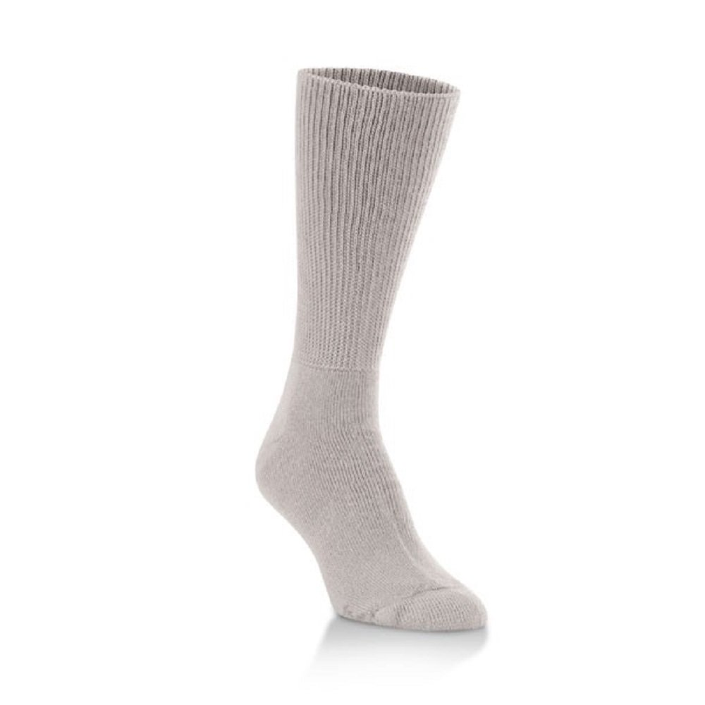 World's Softest Men's / Women's Sensitive Feet Comfort Fit Crew Socks