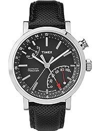 Unisex TW2P81700 Metropolitan+ Black Leather Strap Smartwatch
