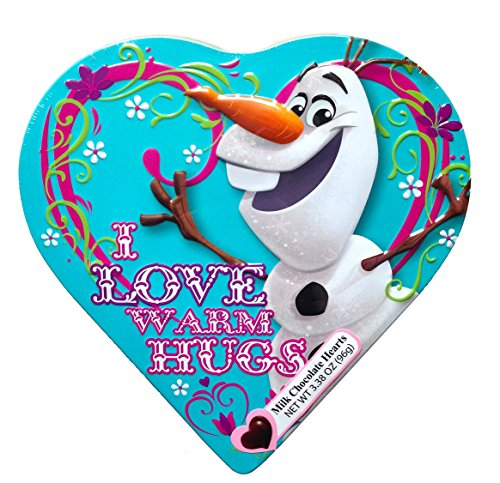 Disney Frozen Valentine Shaped Chocolate