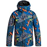 Quiksilver Boys Mission Snow Jacket Print