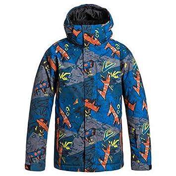 Quiksilver Mission Printed - Snowboard Jacket - Cazadora de Snowboard - Niño: Quiksilver: Amazon.es: Deportes y aire libre