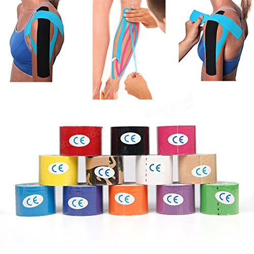 Equipment - 5cm Sports Fitness Kinesiology Tape Muscle Care Elastic Adhesive Bandage - Measure Magnetic Recording Tapeline - - Measuring Stick Equine