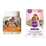 Halo Bundle Liv-A-Littles Treat plus 4LB Dog Food ...