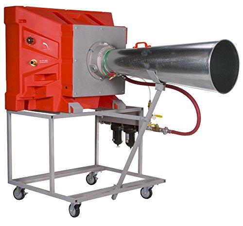 Portacool PAC2K16AD Hazardous Location Pneumatic Portable Evaporative Cooler, 16-Inch, 2200 CFM, Orange by Portacool