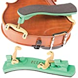Kun Collapsible Mini Green Shoulder Rest for 1/16 - 1/4 Violin