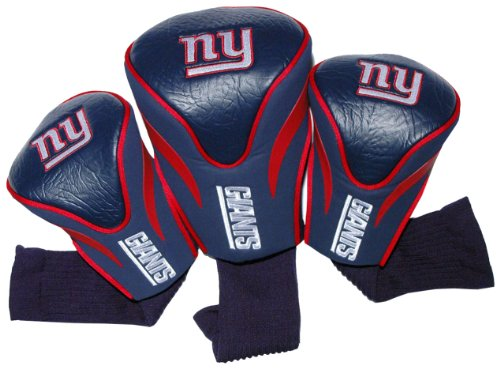 Giants Club (NFL New York Giants 3 Pack Contour Head Covers)