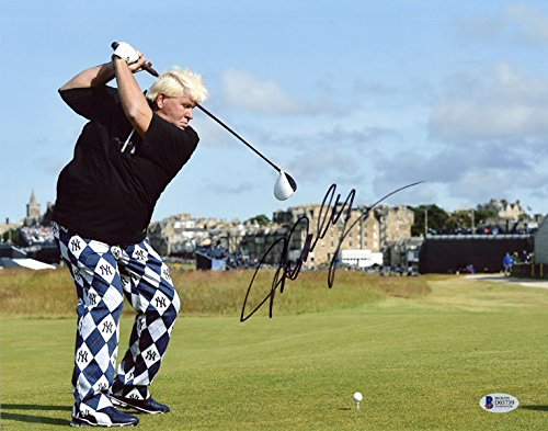 - JOHN DALY SIGNED AUTOGRAPHED 11x14 PHOTO CELEBRATED GOLF CHAMPION BECKETT BAS
