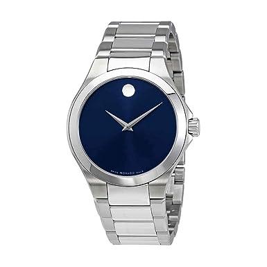 Movado Defio Blue Dial Mens Watch 0606335