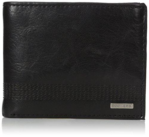 dockers-mens-clayton-passcase-wallet-black-one-size