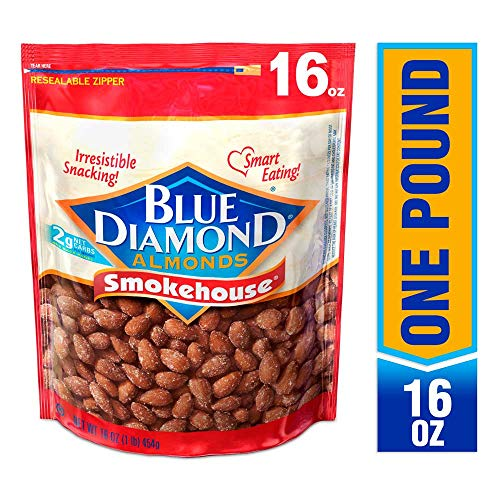 Blue Diamond Almonds, Smokehouse, 16 Ounce (Smoked Honey Fish)