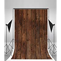 Photography Background Vinly 5x7ft Backdrop Studio Props Vintage Wood Block Style Baby Birthday
