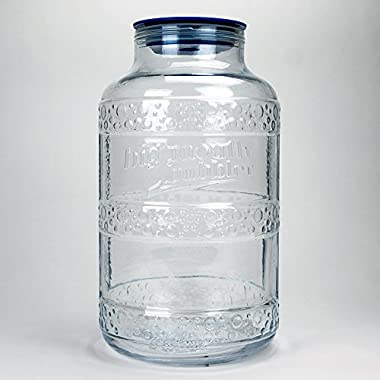 Big Mouth Bubbler® EVO 2 - 5 Gallon Wide Mouth Glass Carboy Fermentor