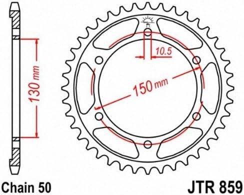 JT Ritzel jtr859.44/44Z Stahl hinten Ritzel