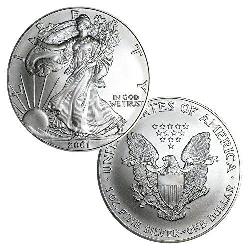 2001 American Silver Eagle $1 Brilliant Uncirculated