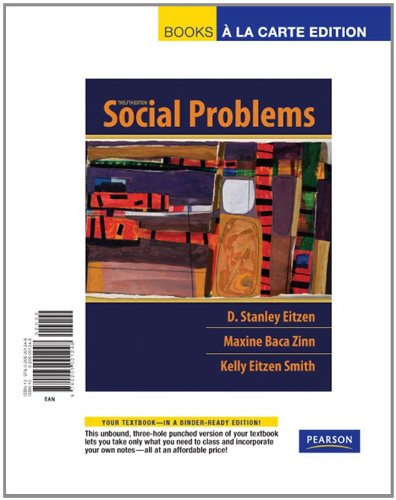 Social Problems, Books a la Carte Edition (12th Edition)