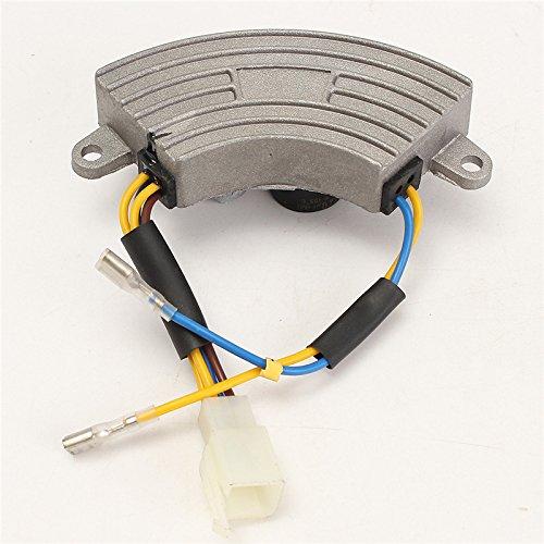 UTL 3500 Watt Generator AVR Automatic Voltage Regulator Rectifier AVR 250V 220uF Aluminum Base Cover 6 wires Popular