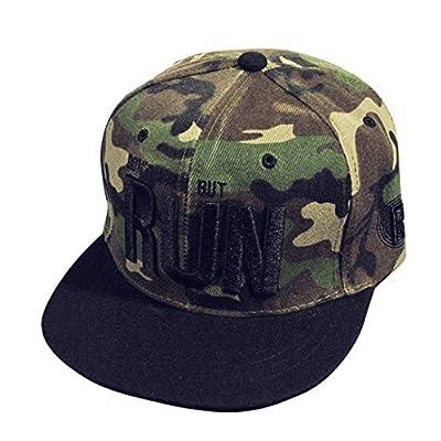 Voberry Unisex Baseball Cap Teen Boys Girls Embroidery Snapback Hip Hop Flat Hat