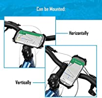 Universal Bicycle Phone Holder Adjustable Silicone Handlebar Crack for iPhone X//6//7//8 Plus Ideal for Road Mountain Bikes and Motorcycle 4.5-6.0 Phones Bike Mount Samsung Galaxy S9//S8 Plus