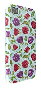 Floral Roses iPhone 5 / 5S protective case (image shows iPhone 4 example)