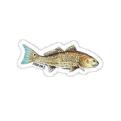 Fish On! Air Freshener (Redfish/Red Drum): Automotive