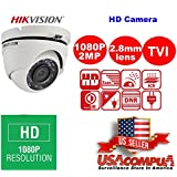 Hikvision OEM Turbo HD 1080P IR Dome Camera