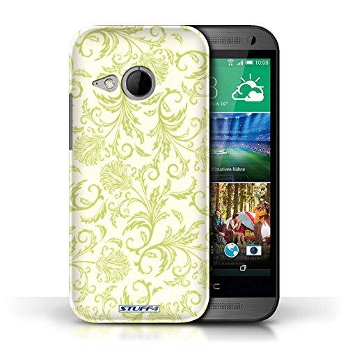Etui / Coque pour HTC One/1 Mini 2 / Fleurs Jaunes conception / Collection de Fleurs