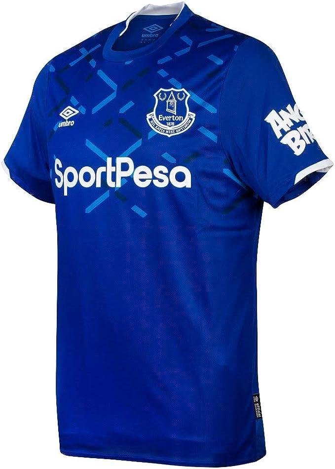 Umbro Everton Home Shirt 2019 2020 M Amazon Co Uk Clothing