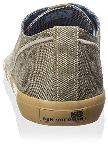 Ben Sherman Mens Ron Sneaker Kastanje