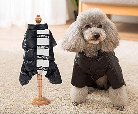 WTFYSYN Traje de Nieve Ropa para Mascotas de Clima frío, Chaqueta ...