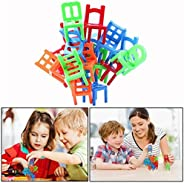 Balance Stacking Chairs Kid Child Family Play Fun Game Education Toys Gift 18pcs