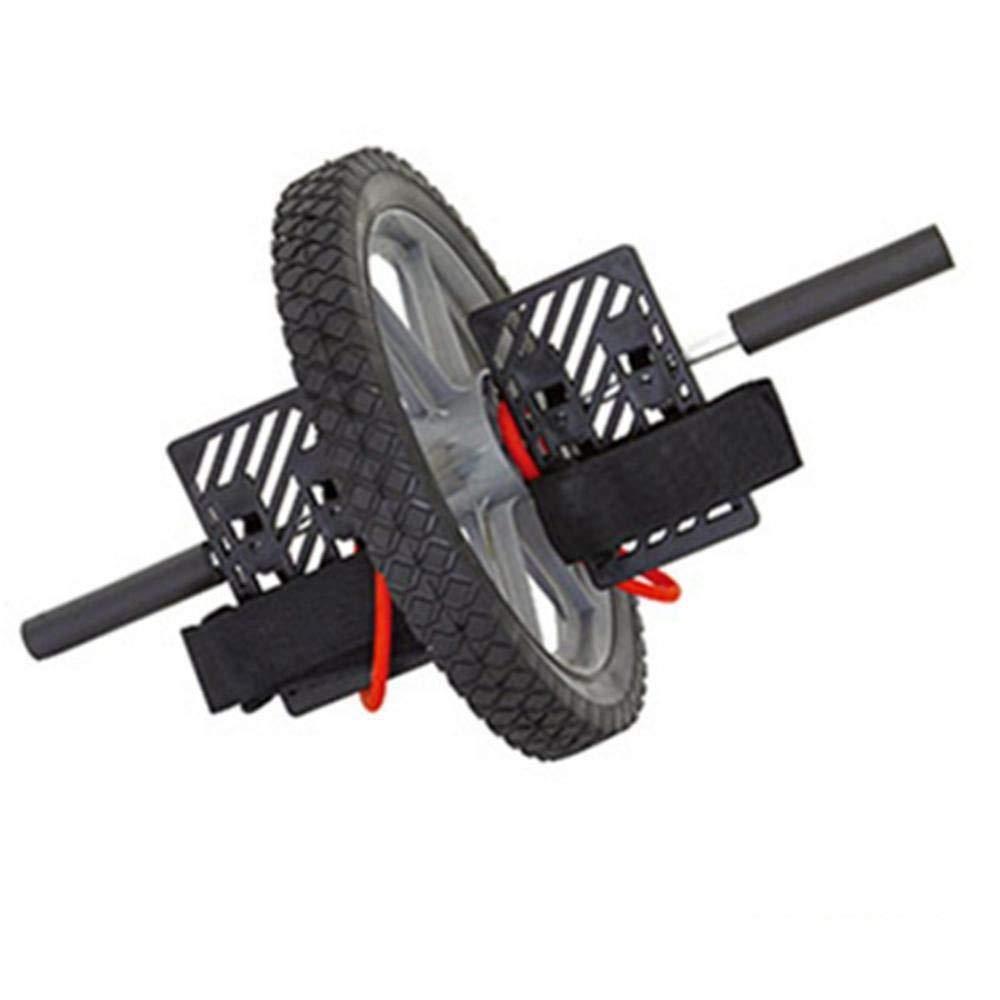 Olydmsky Wheel Bauchtrainer Abdominal-Rad Doppel-Footed Runde Multifunktionale erstklassigen Kern Energie Laufrad mit gesunden Bauch