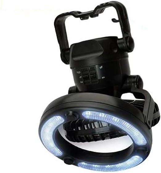 Luz LED para Ventilador de Camping 2 en 1,250 lúmenes Luces LED ...