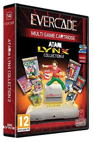 Evercade Atari Lynx Collection 2 Cartridge – 8 Games (Electronic Games)