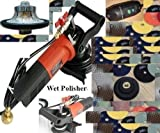 HWV316POLSET 3/16-Inch Radius Stone and Concrete 3/16-Round Bullnose Shaping and Wet Polishing Kit One Year Warranty
