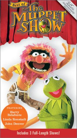 Best of the Muppet Show - Harry Belafonte / Linda Ronstadt / John Denver [VHS]