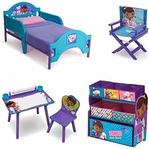 Amazon Com Disney Jr Doc Mcstuffins Room In A Box With