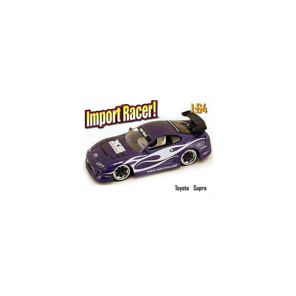 Jada Dub City Import Racer Purple Toyota Supra 164 Scale Die Cast Car