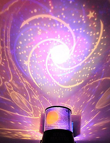 Bling bricolaje galaxia romántica luz de proyector de cielo ...
