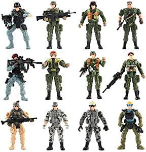 Win A Free Mr.River WW2 US Army Men and SWAT Team Toy Soldiers Action…