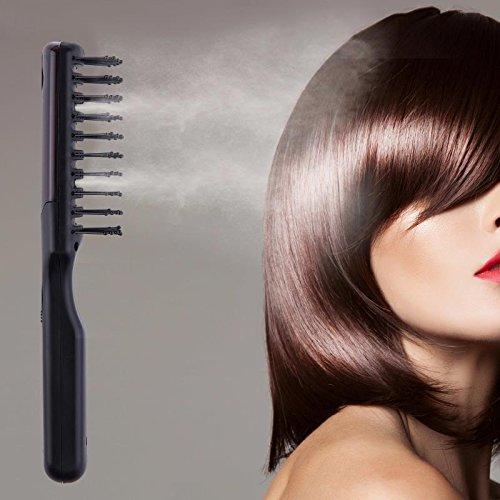 Cepillo alisador / Cepillo del pelo / Vapor por el cepillo /Atomización ultrasónica peine, Cuidado de su cabello para brillar efecto lubricante, ...