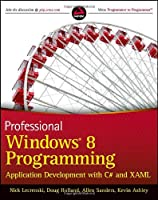 Professional Windows 8 Programming Front Cover