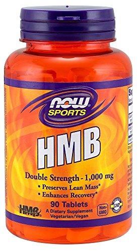 Double Strength HMB 1,000 mg Now Foods 90 Tabs