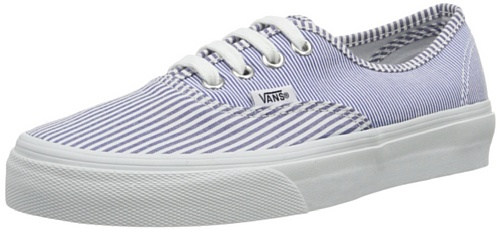 Vans Men's Authentic Striped Canvas Sneakers Xsq9Tih
