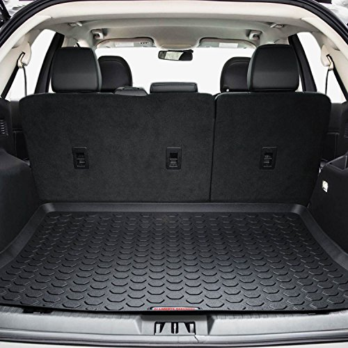 2015 - 2018 Ford Edge Cargo Mat by Elements Defender (GUARANTEED PERFECT FIT) Heavy-Duty All-Weather Trunk & Cargo Liner - 100% Weather Proof - Fits All Edge Models Between 2015 - Ford Trunk