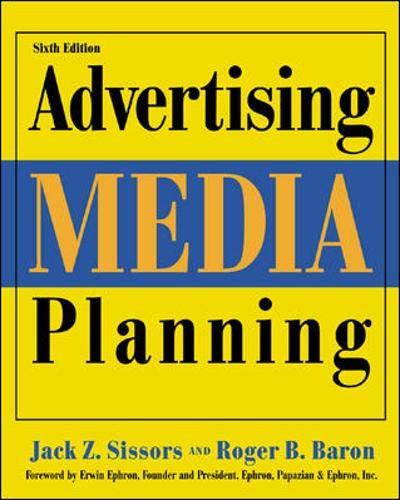 Advertising Media Planning, Sixth Edition