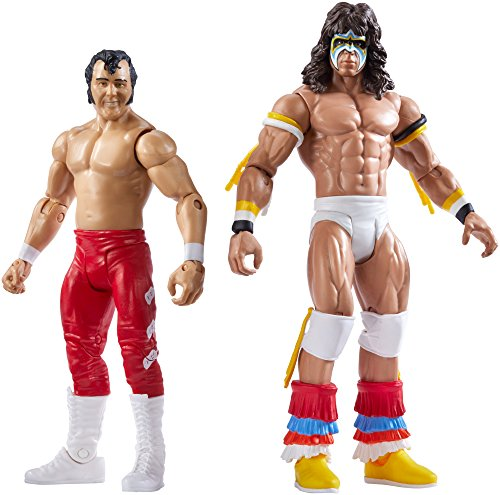 WWE SummerSlam Ultimate Warrior & Honky Tonk Man Action Figure (2 Pack) by WWE
